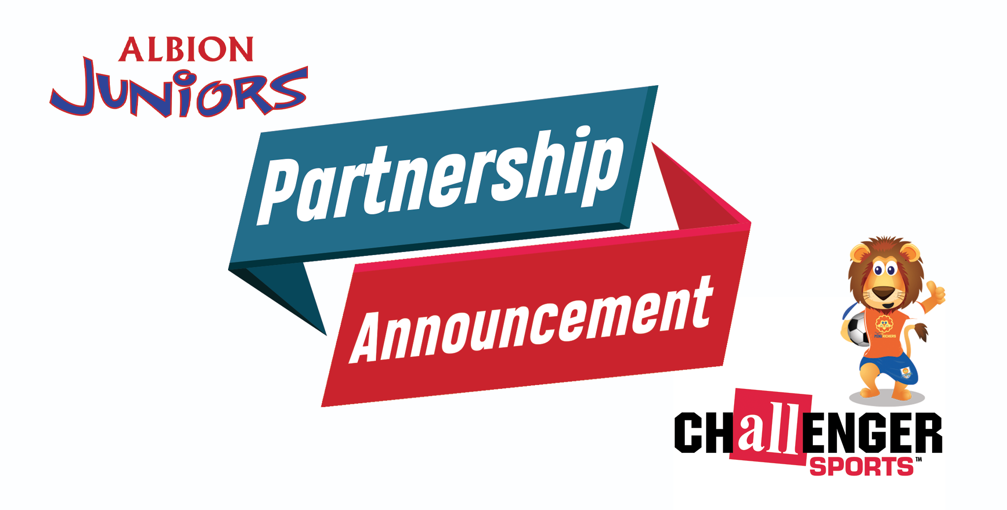 Albion Juniors is excited to announce our partnership with Challenger Sports' TinyTykes Soccer program!