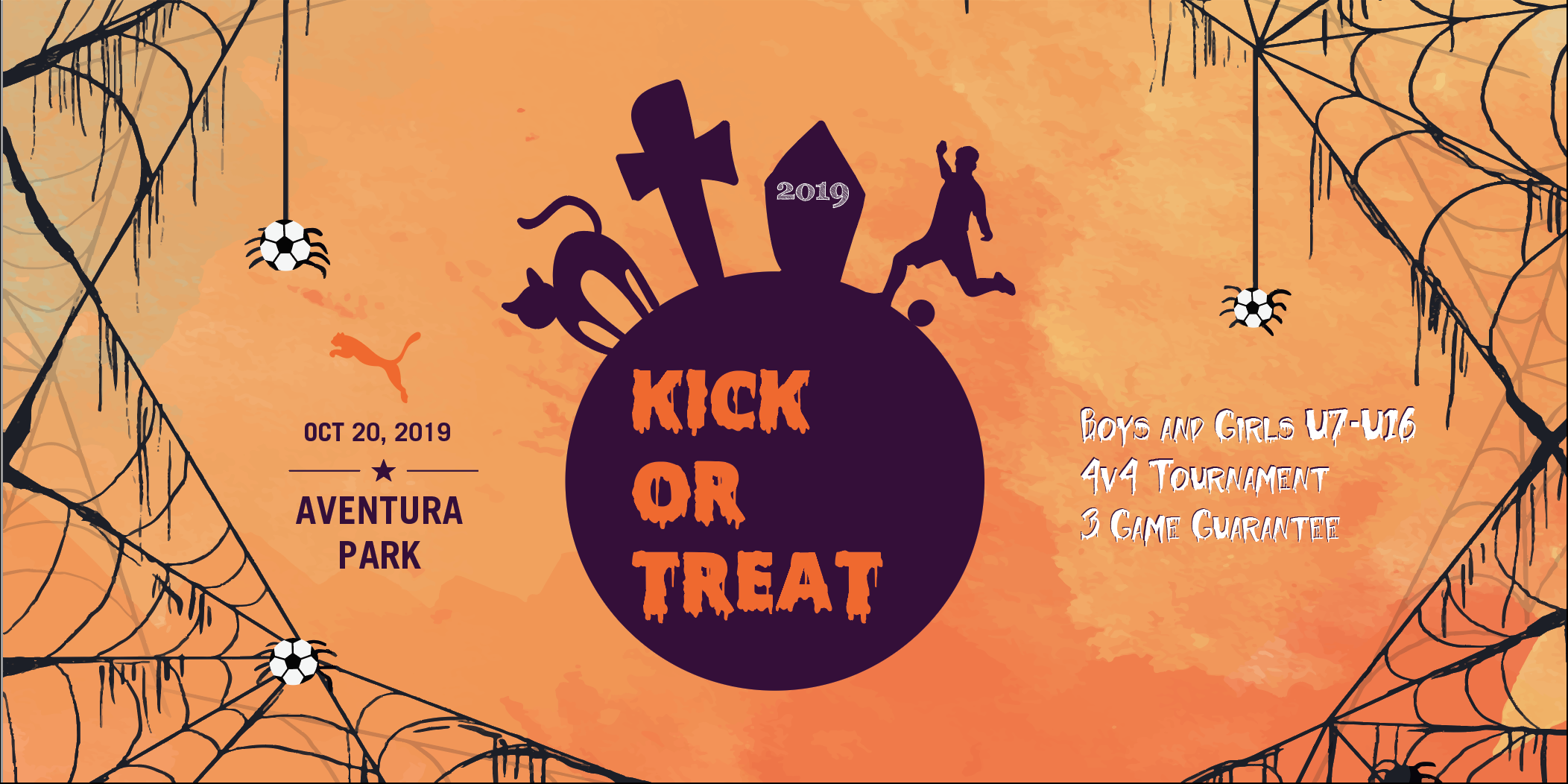 Kick or Treat 4v4 Soccer Festival